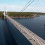 GSP participă cu o macara maritimă la construcţia celui mai lat pod rutier din lume