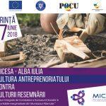 Conferința Cultura antreprenoriatului contra culturii resemnării – 7 iunie 2018, Alba Iulia