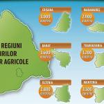 Prețul terenurilor agricole din România: de la 3.600 de euro/ha în Banat, la 2.600 euro/ha în Bucovina