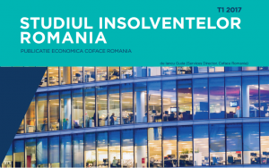 Coface Romania – Studiul insolventelor, Trim I 2017