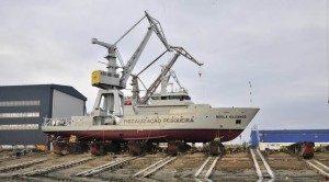 Șantierul naval Damen Galați a produs o supernavă pentru o firmă din Anglia, care a costat 250 de milioane de euro