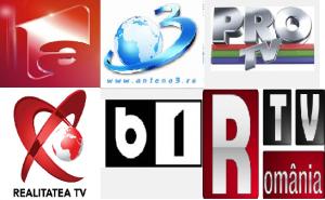 Cum stau financiar principalele companii de televiziune – Antena Group, Antena 3, Pro TV, Realitatea Media, B1 TV, RTV Satellite Net, Prima Broadcasting si Dogan Media