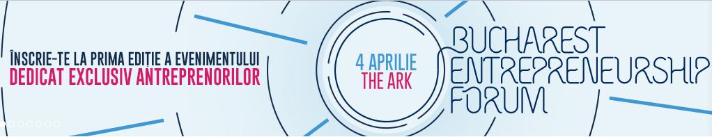 'Entrepreneurship Forum' organizat de BVB – marti 4 aprilie