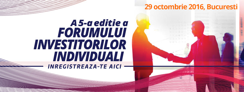 Forumul Investitorilor Individuali la Bursa de Valori Bucuresti – Editia a 5-a