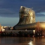 La Cite du Vin, parc tematic in Bordeaux