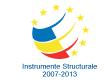 Instrumente structurale 2007 - 2013
