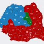 Romania a votat in 2014 rosu sau albastru …insa avem minim  3 Romanii dupa PIB per capita si Salariul mediu pe judet