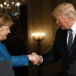 Trump, Merkel au discutat despre NATO şi comerţ; Trump: Imigraţia este privilegiu, nu drept