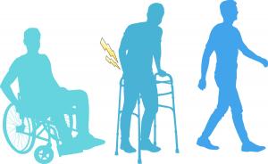Un bărbat paralizat a mers din nou datorită implantului unui neurostimulator la nivelul măduvei spinării