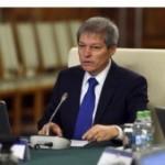 Cioloș: Pomenile votate în ultima perioadă, impact de 9 miliarde lei, peste 1% din PIB
