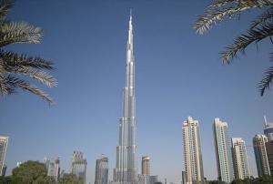 Burj Khalifa din Dubai
