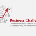 """Conferința """"Business Challenge. Dinamizarea sectorului IMM-urilor și provocările antreprenoriatului"""" – Joi 15 octombrie"""