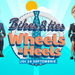 Bikes and Ties, Wheels and Heels: 24 Septembrie 2015