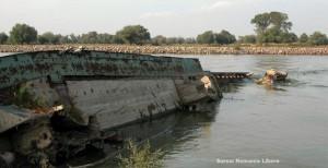 România trebuie să plătească 10 mil. euro pentru nava Rostock scufundată pe canalul navigabil al Dunării în 1991
