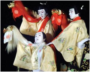 Kabuki, arta simbol a Japoniei