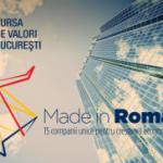 Made in Romania: Bursa de Valori Bucuresti publica lista celor 15 companii care vor defini viitorul economiei romanesti