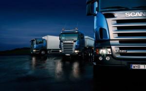 Scania lucrează la un camion de gunoi propulsat cu hidrogen