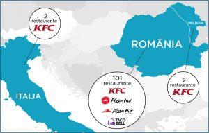 Sphera Group, companie care opereaza francizele KFC, Pizza Hut si Taco Bell pe piata romaneasca, se listeaza la bursa. Actionarii vor sa vanda 25% din companie pentru 70 de milioane de euro