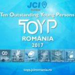 S-au deschis înscrierile pentru competiția națională Ten Outstanding Young Persons (TOYP) 2017