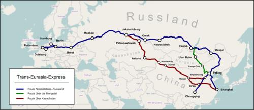 Rusia va construi 2.000 de km de autostradă în Siberia, devenind parte a coridorului de 8.000 km Hamburg-Shanghai