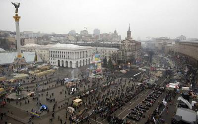 Economia Ucrainei se prabuseste pe fondul violentelor
