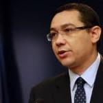 Ponta: Marea provocare pentru Romania este sa iasa, energetic, din propriile granite