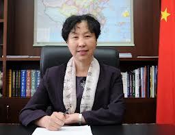 ambasadorul Chinei, Huo Yuzhen