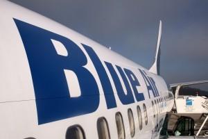 Blue Air a înregistrat un număr record de aproape 3,6 milioane de pasageri în 2016
