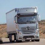Divizia de camioane a Mercedes-Benz și-a crescut cota de piaţă cu 1,7% în primele 11 luni din 2017