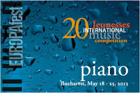 "EUROPAfest 2013: Finala Jeunesses International Piano Competition ""Dinu Lipatti"" se desfasoara la Sibiu"