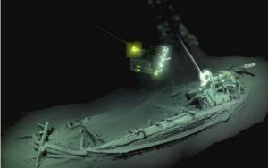 Arheologii au descoperit cea mai veche epava din lume in Marea Neagra