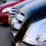 INS: Înmatriculările noi de autoturisme au crescut cu 2,8% în primul semestru