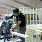 Producţia industrială a crescut cu 7,6% în primele opt luni din 2014