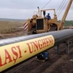 Lucrările din România la gazoductul Iaşi-Ungheni au fost finalizate